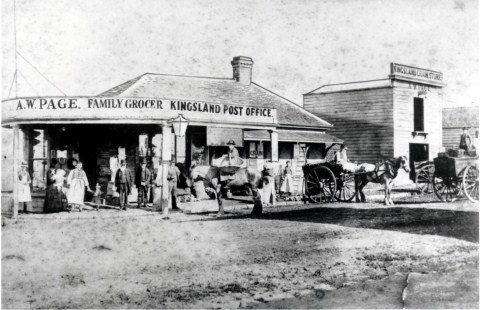 First Kingsland Post Office C1880s