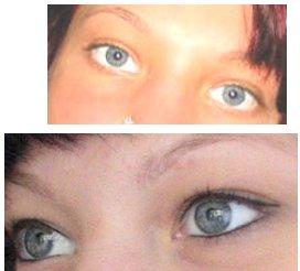 permanent make up tatoeage aan de ogen